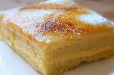 Sweet Cooking, Cooking Chef, Cheesecake Recipes, Dessert Recipes, Spanish Desserts, Delicious Deserts, Crazy Cakes, Almond Cakes, Sweet Cakes