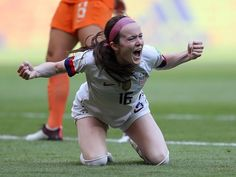 """The has now broken the record for most goals in a single FIFA Women's World Cup (currently at Rose Lavelle years, 54 days) is the American to score in a World Cup Final, trailing only Alex Morgan years, 15 days) in Soccer World, Play Soccer, Fifa Women's World Cup, Football Girls, Young Americans, National Football Teams, World Cup Final, Soccer Training, One Team"