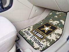 ea0ce785d6 U.S. Army Military Carpet Car Truck Auto Floor Mats Car Mats