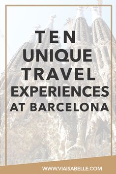 Barcelona will make you feel alive! The city of lights and dreams will make you fall in love with Spanish culture, Gaudi's work, and a hopeful promise to return. Barcelona is my favourite city. Find out how it made me fall in love with its charm and how you can too by clicking on the pin!