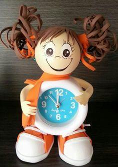 Fofucha reloj