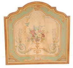 Pair of Sugo d'erra Painted Panels at 1stdibs