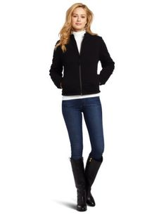Mod-O-Doc Women's Classic Jersey Quilted Zip Jacket Mod-O-Doc. $160.00. Mock collar. Machine Wash. Two front pockets. Made in China. 100% cotton