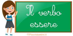 Esercizi sul verbo essere per la scuola primaria Family Guy, Pin Terest, Teaching, Projects, Veronica, Fictional Characters, Euro, Alphabet, Home