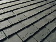 Slate Look Roof Tiles DIY  wow these look great if I ever have to redo our roof this is what it will be... so pretty... Edith