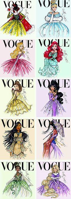 """Você já parou para pensar como seria as princesas da Disney nos dias de hoje ? Com visual atual """" Tumblr"""" não com aquele visual de 1997 etc .."""