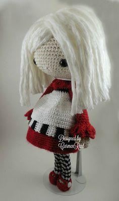 Elvira  Amigurumi Doll Crochet Pattern PDF