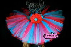 Dr Seuss Tutu! - #tutu #tutus #tutudress #drseuss #catinthehat #newborn #babygift #babyshower #flowergirl #baby #toddler #fun #dance #dressup