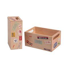 Miniature Wooden Storage Box – Postal Theme