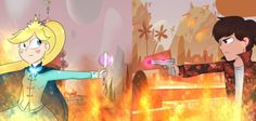 Interdimensional War Star vs the forces of evil AU by TurquoiseGirl35 on DeviantArt