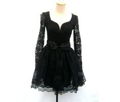 Dress black jessica mcclintock