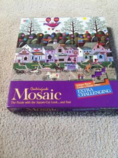 Mouse over image to zoom                                                                                  Charles Wysocki Confection Street Mosaic Square-Cut Extra Challenging NEW  $9.99