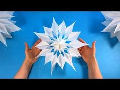 How to make a Christmas Star with a paper bag - DIY Paper Star - Christmas crafts ideas Christmas Origami, Christmas Paper Crafts, Christmas Bags, Christmas Star, Christmas Decorations, Diy Paper Bag, Paper Bag Crafts, Paper Crafts Origami, 3d Paper