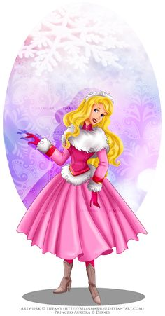 Winter Princess - Aurora by selinmarsou.deviantart.com on @DeviantArt