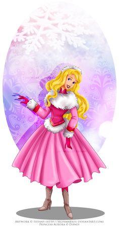 winter princess aurora by selinmarsou - Recherche Google