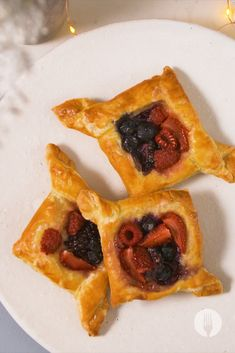 Take your baking game from 0 to 100 with these 4 EPIC puff pastry folding tricks 💯 Baking Games, Easy Baking Recipes, Bon Appetit, Baked Goods, Foodies, Waffles, Good Food, Easy Meals, Breakfast