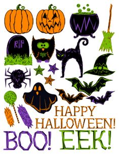 free halloween printables - backgrounds and images
