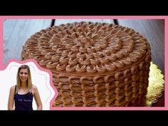 Csokitorta díszítés recepttel - Sütik Birodalma - YouTube