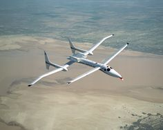 The Proteus is a unique aircraft designed as a high-altitude, long-duration telecommunications relay platform, with potential for use on atmospheric sampling and Earth monitoring science missions as well. It was designed by Burt Rutan, president of Scaled Composites, and built during 1997-98 at the firm's development facility in Mojave, CA. Normally flown by two pilots in a pressurized cabin, the Proteus also has potential to perform its missions semi-autonomously.