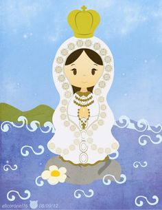 Virgen del Valle by on DeviantArt Catholic Catechism, Our Lady Of Lourdes, Mama Mary, All Saints Day, Blessed Virgin Mary, Blessed Mother, Mother Mary, Christmas Art, Illustration Art