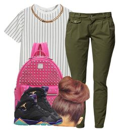 """Bestfran school outfit"" by trillest-queen ❤ liked on Polyvore featuring Chicnova Fashion, MCM and Givenchy"