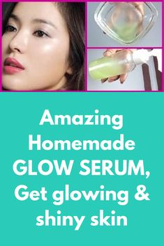 Amazing Homemade GLOW SERUM, Get glowing & shiny skin Today I am telling you ho. Aloe Vera Skin Care, Aloe Vera Face Mask, Gel Aloe, Aloe Vera Gel, Skin Care Regimen, Skin Care Tips, Skin Tips, Natural Aloe Vera, Best Beauty Tips