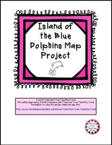 """FREE LANGUAGE ARTS LESSON – """"Island of the Blue Dolphins Map Project"""" - Go to The Best of Teacher Entrepreneurs for this and hundreds of free lessons. 4th - 6th Grade  #FreeLesson   #LanguageArts    http://thebestofteacherentrepreneursmarketingcooperative.net/free-language-arts-lesson-island-of-the-blue-dolphins-map-project/"""
