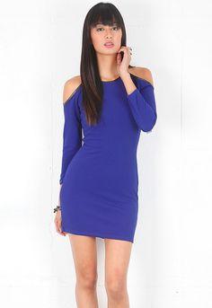lovers + friends Yours Mini Dress in Blue  $119