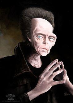 Christopher Walken - 21 Celebrity Caricatures - My Modern Metropolis