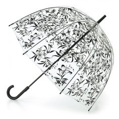 f513a3a8e Love this Fulton Birdcage Lilies Bubble Umbrella - bring on the rain - lots  of covers to choose from!