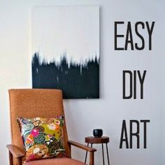 Dans le Lakehouse: Simple But Striking DIY Painting