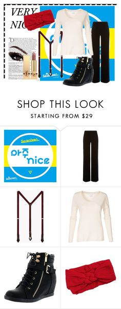 """""""Aju NICE!"""" by ultravioletlight1963 on Polyvore featuring Balmain, Armani Collezioni, Dsquared2, Top Moda, Lord & Taylor and Yves Saint Laurent"""