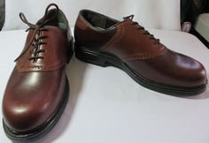 """NUNN BUSH"" MEN'S SIZE 10 BROWN LEATHER SHOES - PLEASE SEE ALL PICTURES #NunnBush #Oxfords"