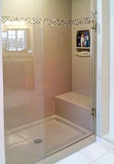 from the Onyx Collection gallery....looking to remodel our bathroom and putting in a walk in shower.... by gayle
