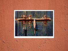 'Vorschiebe-Riegel' von Dirk h. Wendt bei artflakes.com als Poster oder Kunstdruck $16.99