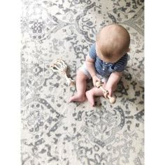 The Bosphorus Floral Ornament Rug is classically styled and perfect for your home. Rugs USA and enjoy free shpping!