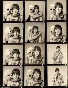 Paul McCartney by Richard Avedon, 1965  (Scan from Popular Noise Magazine)