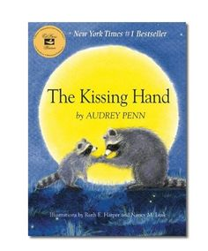The Kissing Hand by  Audrey Penn and wonderfully illustrated by Ruth E. Harper and Nancy M. Leak is highly recommended for any little or big ones experiencing separation anxiety or about to embark out of their comfort zone.  In this story, Chester Raccoon is uneasy because school is starting in the forest. He does not want to go, and would much rather stay home with Mom. To help ease Chester's fears, Mrs. Raccoon shares a family secret called the Kissing Hand to give him the reassurance of…