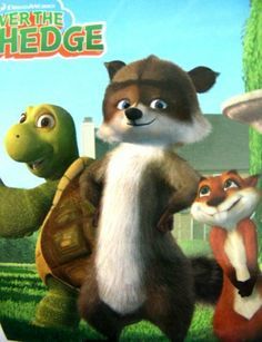 """Dreamworks Movie Character Blanket - Over The Hedge Buddies Throw by DreamWorks. $29.99. 100% polyester, easy to clean. very soft and comfortable. size approx 50x60"""". Officially licensed Over The Hedge blanket throw, manufactured by Northwest"""