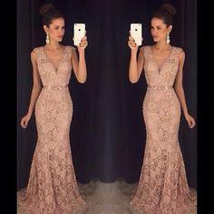 @vestidoca #longo #nude #adororenda