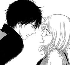 manga, anime, and shoujo image Anime Couples Drawings, Anime Couples Manga, Cute Anime Couples, Anime Couples Hugging, Couple Drawings, Best Shoujo Manga, Manga Anime, Couple Manga, Anime Expressions