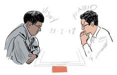 Anand vs Caruana 1-0 TataChess De Moriaan