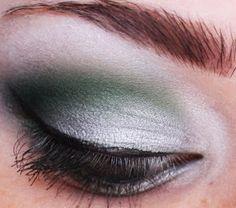 Harry Potter: Slytherin Eye Makeup