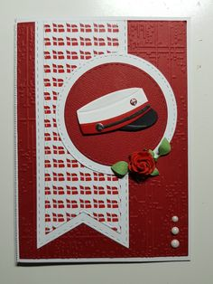 Studenterkort Diy And Crafts, Card Crafts, Cardmaking, Projects To Try, Graduation, Scrap, Symbols, Letters, Inspiration