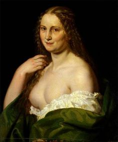 Josefína,Josef Mánes - odhalená prsa