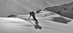 snowboard de randonnée en haute savoie