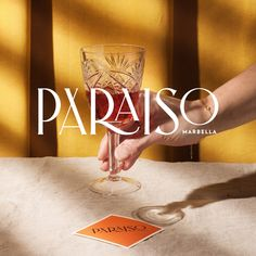 Paraiso - Marbella on Packaging of the World - Creative Package Design Gallery Font Design, Brand Identity Design, Branding Design, Branding Ideas, Corporate Design, Corporate Identity, Brochure Design, Typography Inspiration, Packaging Design Inspiration