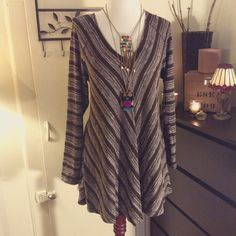 StudioM Dress Flattering loose fit dress... Wear with anything or any where...  Studio M Dresses Midi