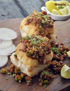 Masala Pav ( Microwave Recipe )