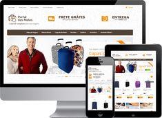 Loja Virtual #Magento com layout responsivo do Portal das Malas, que é uma loja especializada em malas de viagem, carteiras, mochilas, acessórios e artigos para viagem.  #DesenvolvedorMagento #ProgramadorMagento #LojaVirtualMagento #Ecommerce